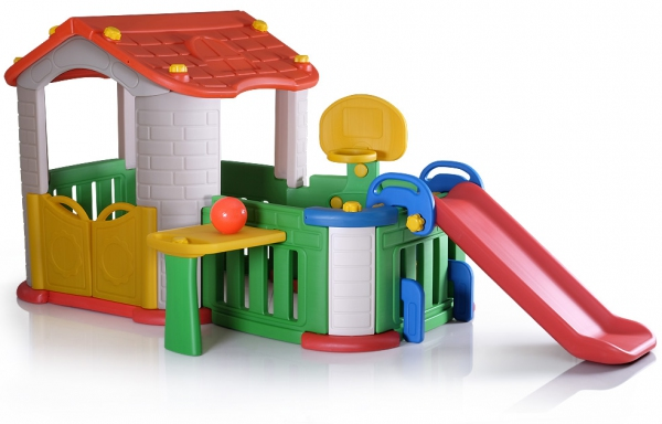 29014 Big Happy Playhouse Baby Play House Baby