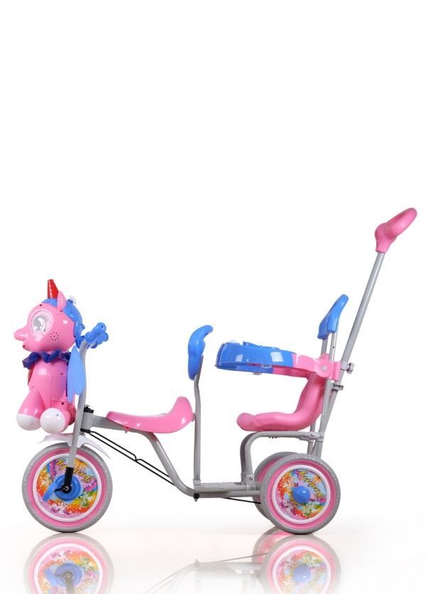 21107 Family Tricycle Unicorn Tricycle
