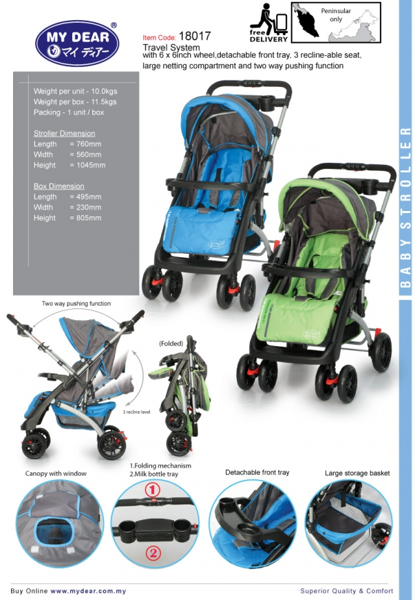 18017 Travel System Stroller
