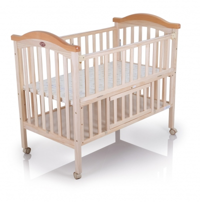 "26045 Wood Crib (Fitted Mattress Size 25"" X 44"")"