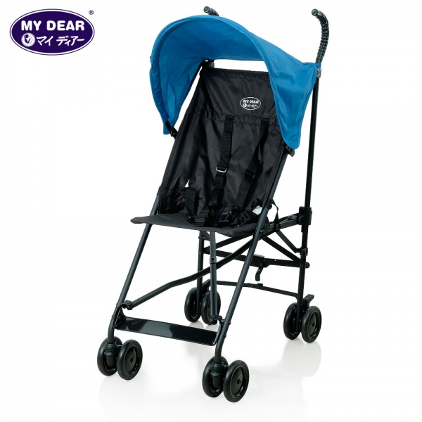 My Dear baby buggy 17002 - Blue
