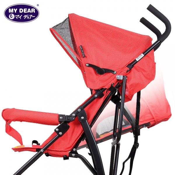 17016 baby buggy - stepless recline position