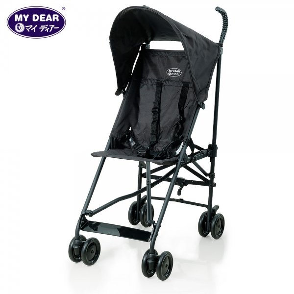 My Dear baby buggy 17002 - Black