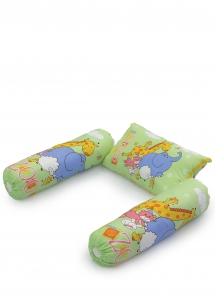 25058 Pillow(3pcs) with Bolster SET