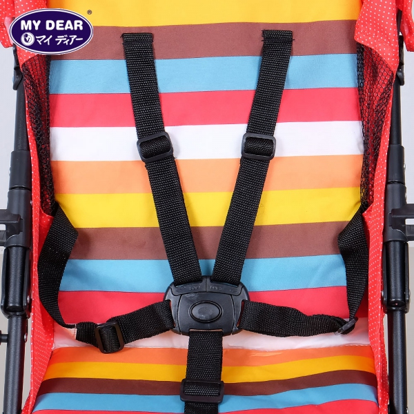 17016 baby buggy - 5 point harnesses